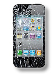 Shattered Cell Phone Screen