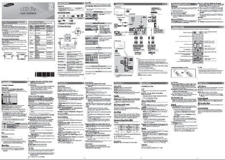 TV User Manual