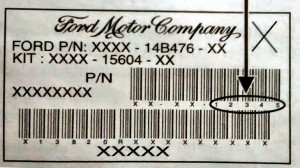 Ford Factory Card