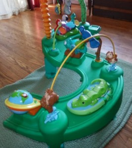 Stage 3 Evenflo Exersaucer