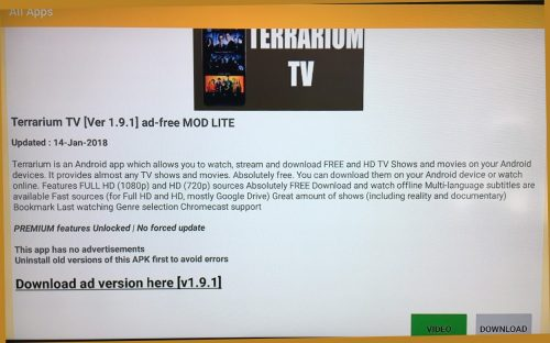 APK Time - Ad-free Terrarium TV