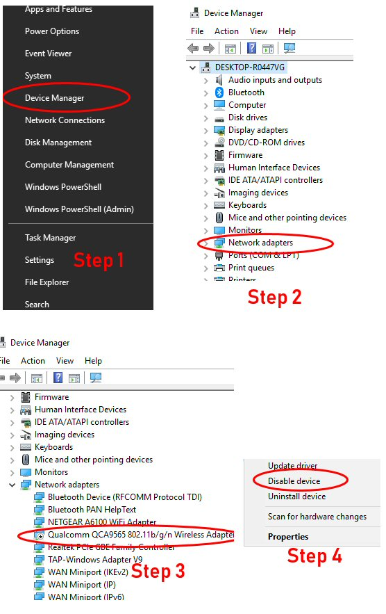 Steps to increase internet speed on Windows computers