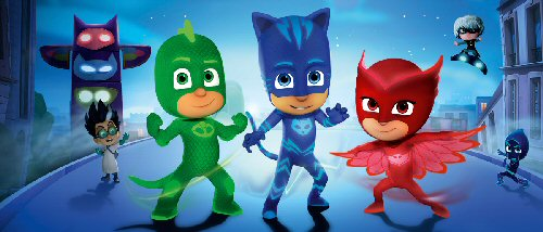 Watch PJ Masks in Silk Browser