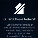 PlayStation Vue Outside Home Network