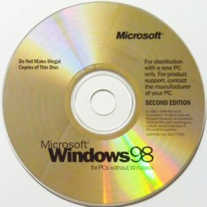 Windows 98 CD