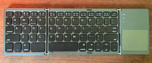 Open Keyboard