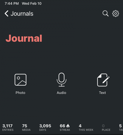 Dictate Journal